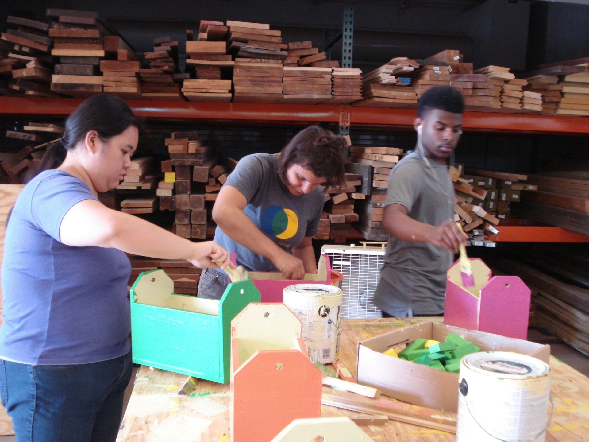 Painting block boxes